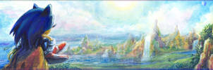 Sonic: Child of the Green Hill - 'His World' by Liris-san