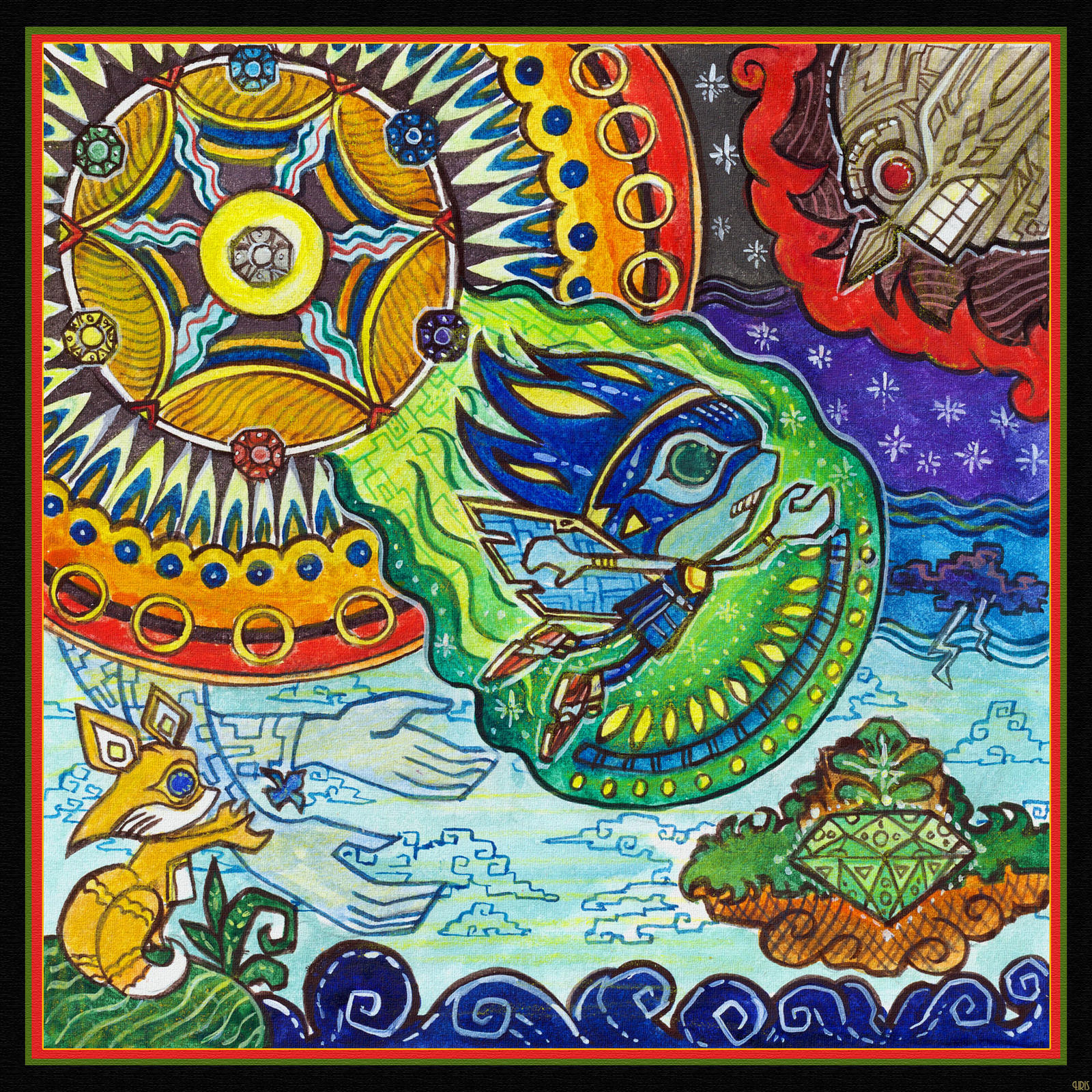 Legends of Angel Island - The Wind Warrior by Liris-san