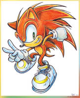 Brown Sonic by Liris-san