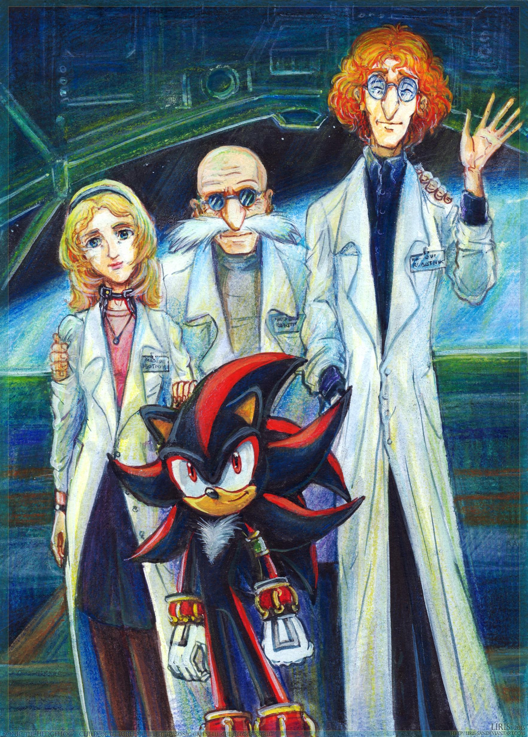 The Unfulfilled Dream - Robotnik Family by Liris-san