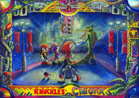 Knuckles Chaotix 20th Anniversary