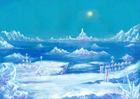 The Frozen Land - Ice Cap by Liris-san