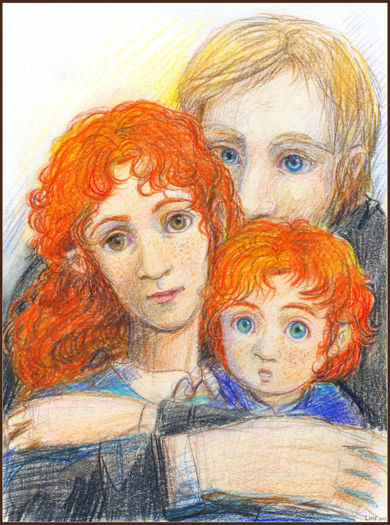 Kintobor Family (for The Story of Ovi) by Liris-san