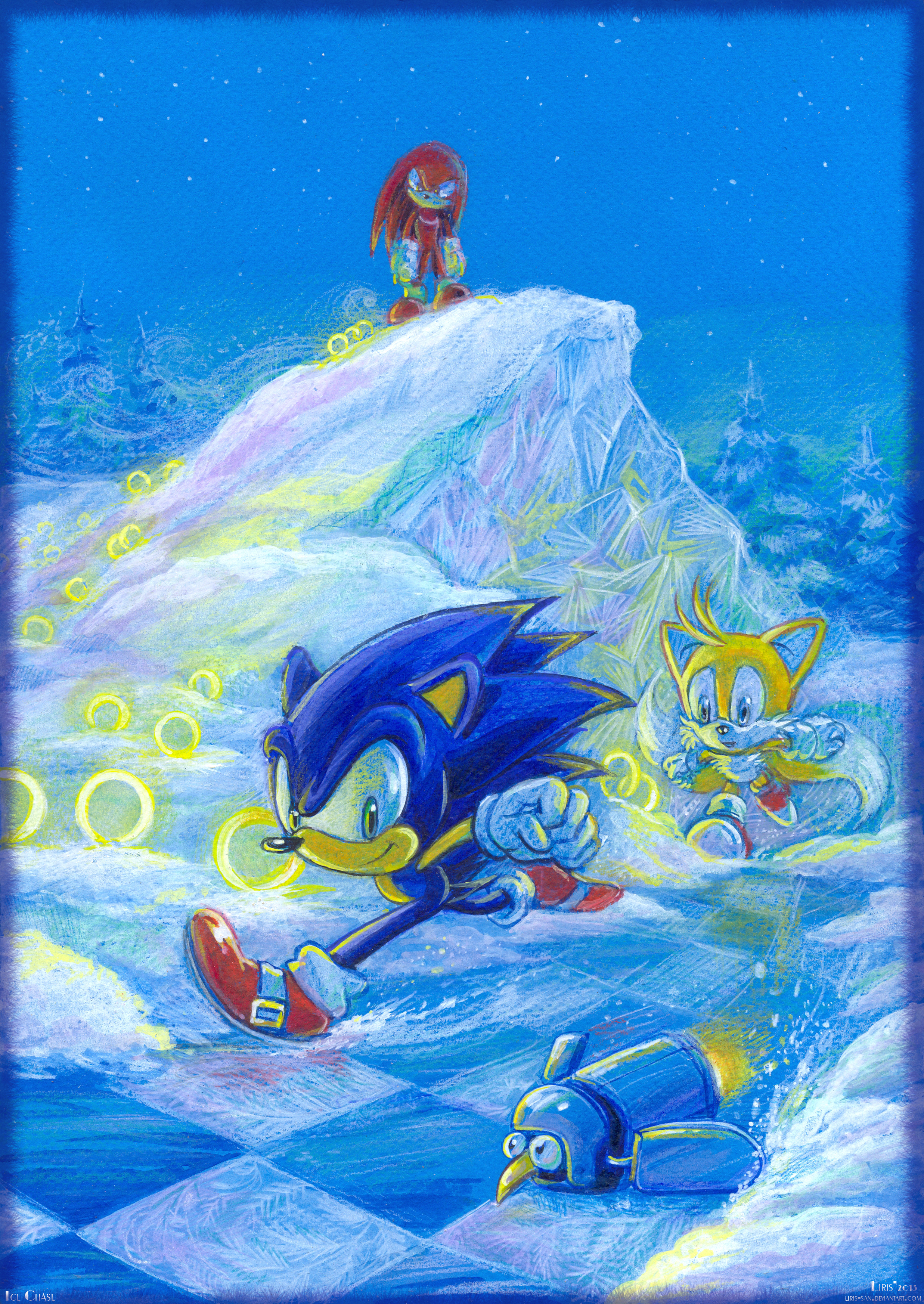 Ice Chase by Liris-san