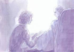 Alone with Father by Liris-san