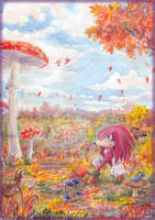 Mushroom Valley by Liris-san