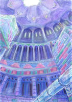Under Hydrocity Cupola by Liris-san
