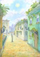 Caryota Street by Liris-san