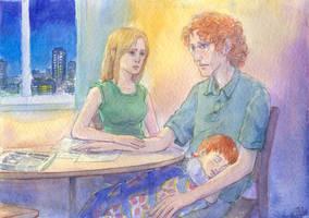 A Sleepless Night by Liris-san