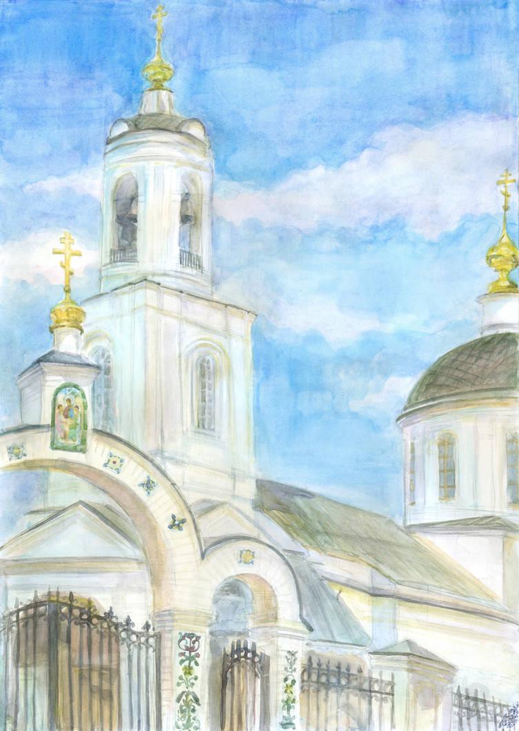 Holy Trinity Church in Mahra by Liris-san