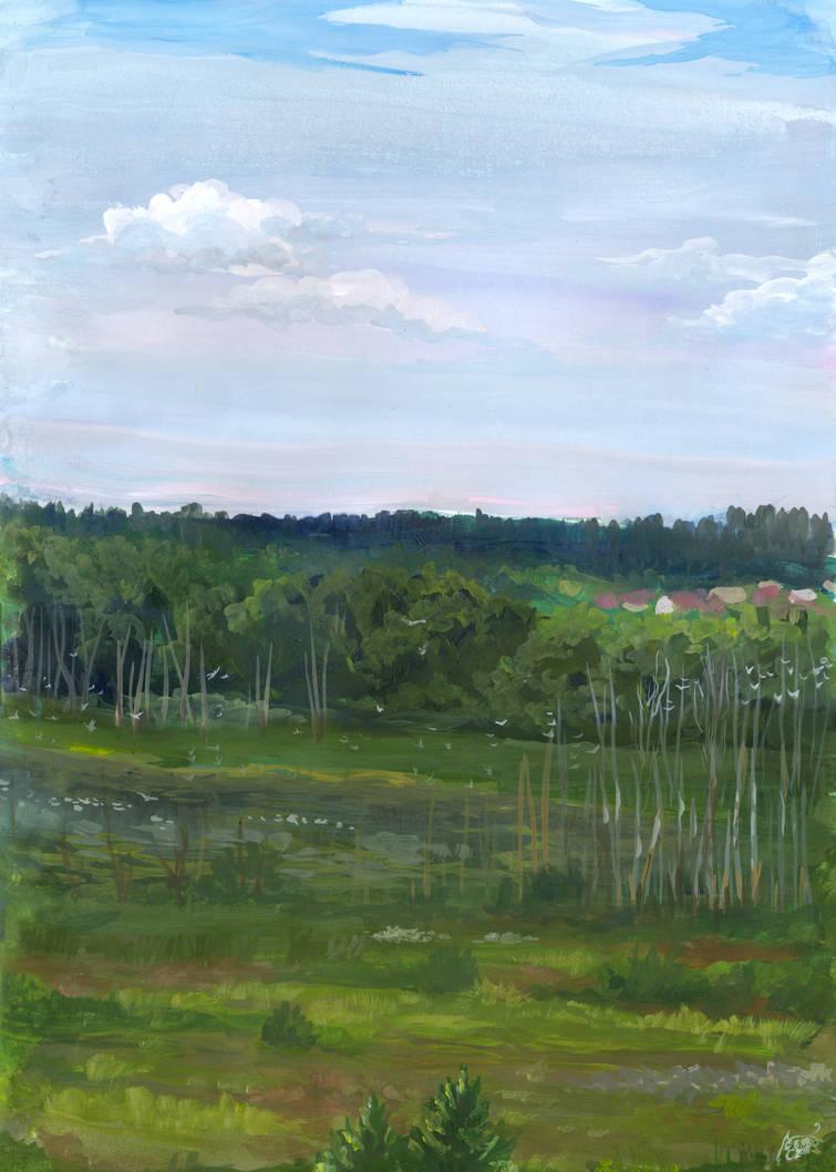 Karinskoe Field by Liris-san