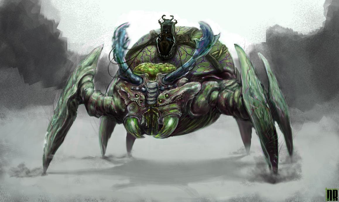 Giant Bug - Vein Mauler by NoeleoNl