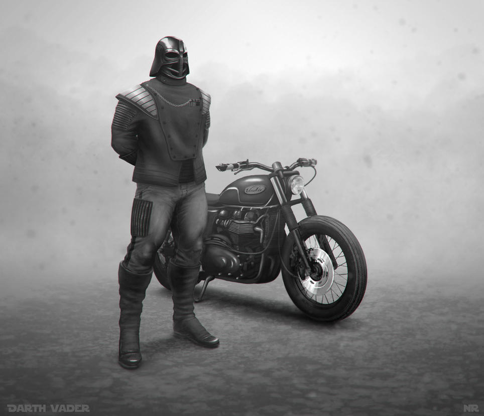 Darth-Biker by NoeleoNl