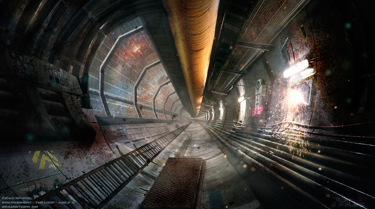 Dead Space Environment - TheLoop - Area2.2 by NoeleoNl