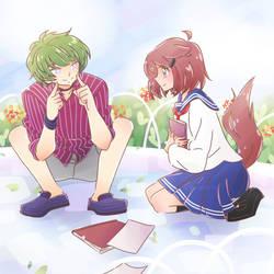 [OC Ship] Pick you up by kuromikku