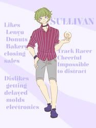 [OC] Sullivan by kuromikku