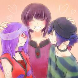 [OC] Smiley Family by kuromikku