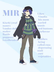 [OC] Mir by kuromikku