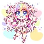 [Gift] Pastel Heart by kuromikku
