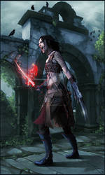 Vampire Amazon by digitalinkrod