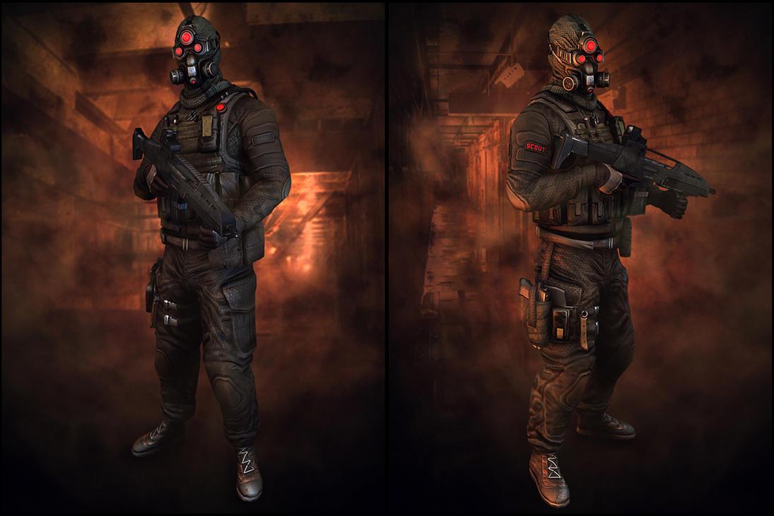 The Scout full hazard suit by digitalinkrod