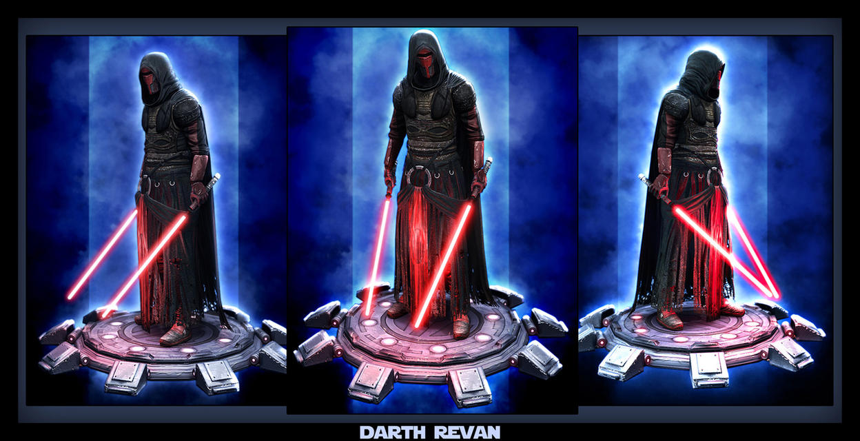 Darth Revan beauty by digitalinkrod