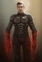 Armored biotic by digitalinkrod