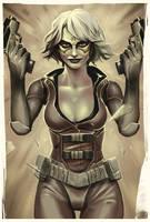 Huntress by digitalinkrod