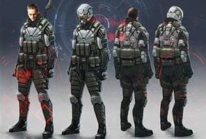 Proxy soldier rogue sheet by digitalinkrod
