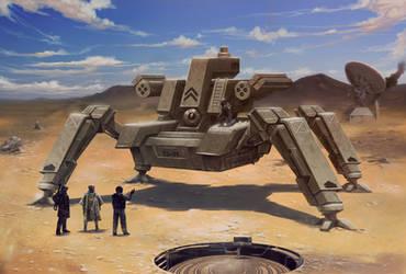 Tarantula s- tank mech by digitalinkrod