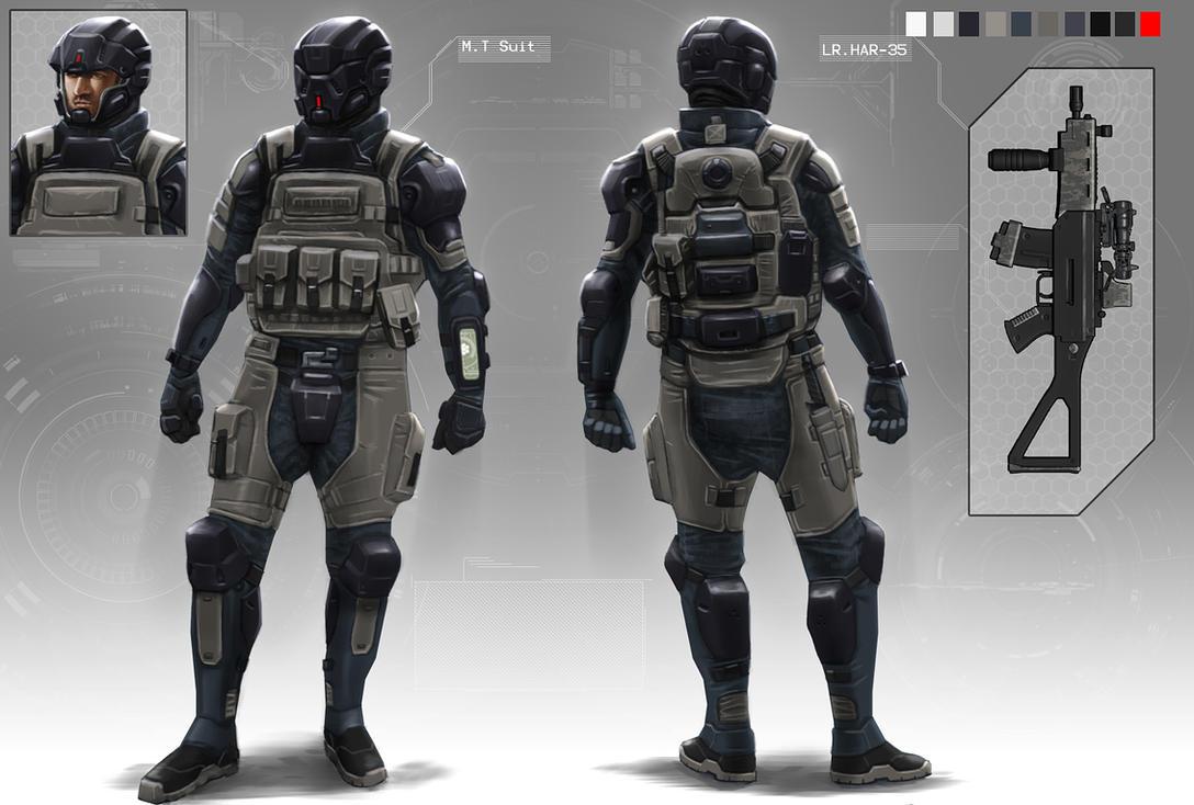 Assault  troop by digitalinkrod