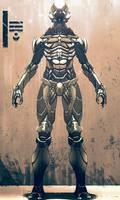 Ancient spacemen suit by digitalinkrod