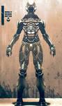 Ancient spacemen suit