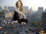 Emma Watson Traffic Block