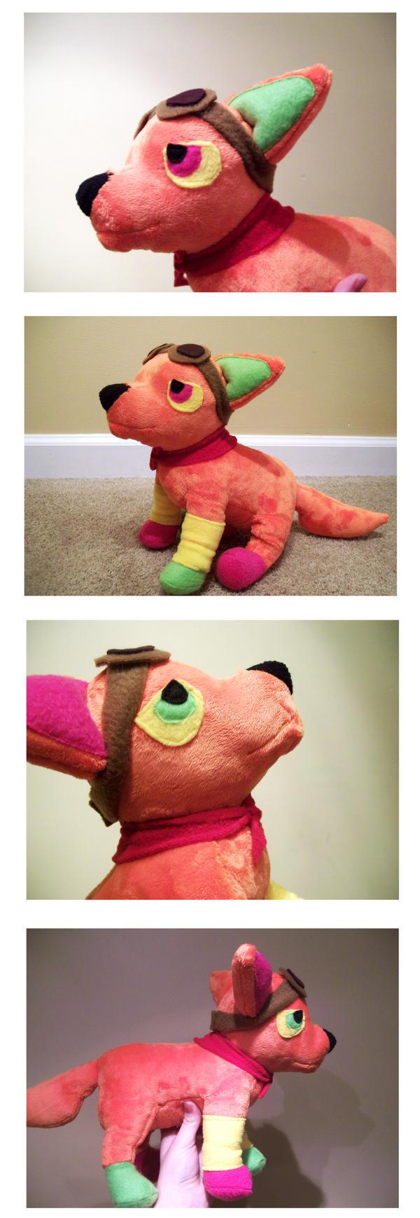 MonsterEnterprise Plush Commission by nettlebeast