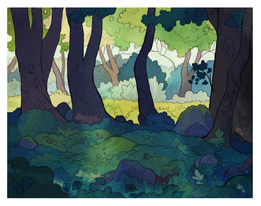 Secret Meadow by nettlebeast