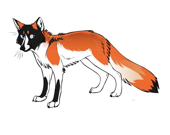 Remani Fox form by Remysaur