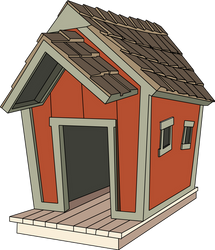Original doghouse concept