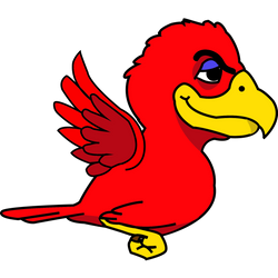 Flying Bird Colored1