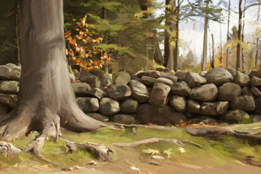 Forest Landscap by nightshadow76