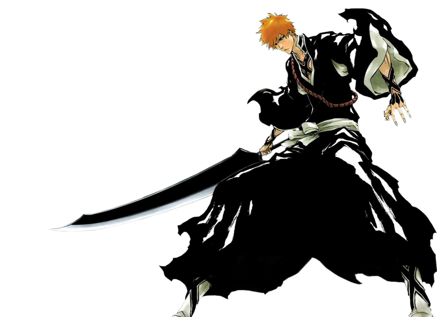 Bleach 480 color spread render by entropic-insanity on