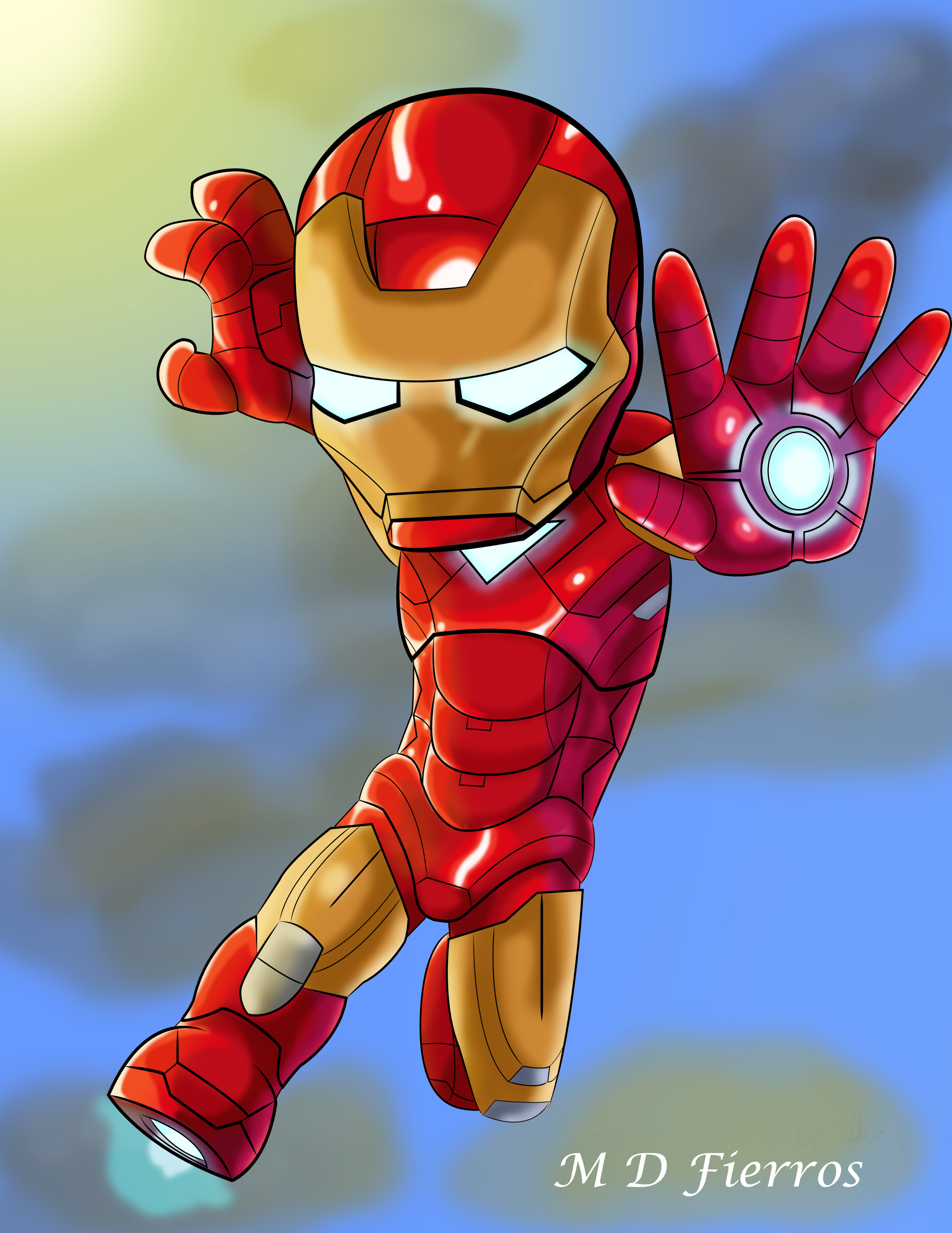 Chibi Iron man by Ironmatt1995 on DeviantArt