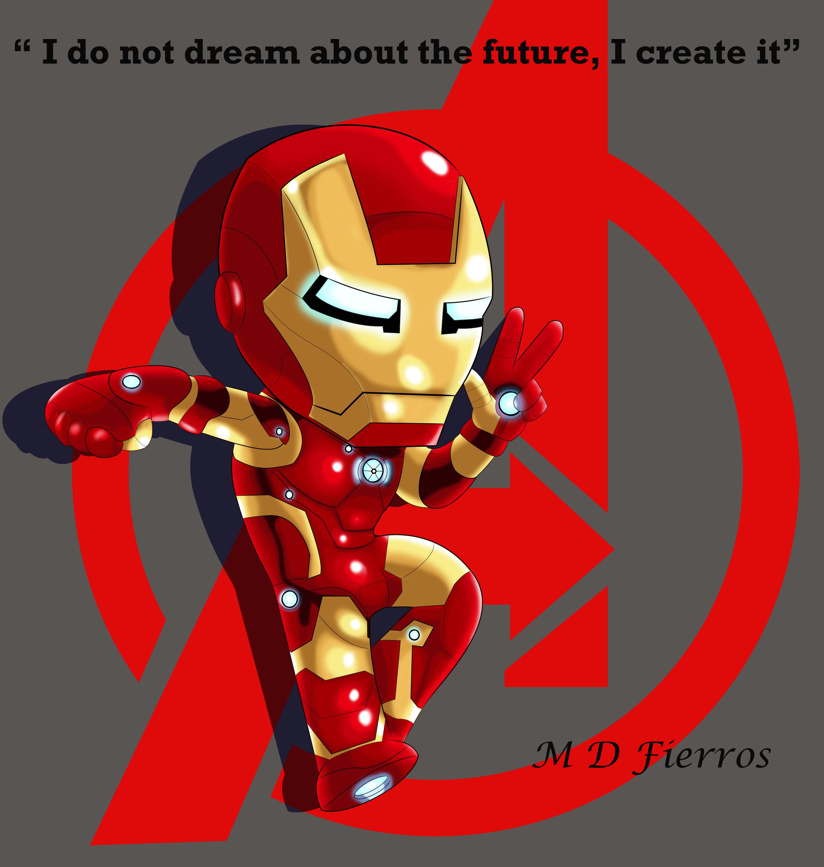 Iron Man Chibi Cute 21431 Loadtve