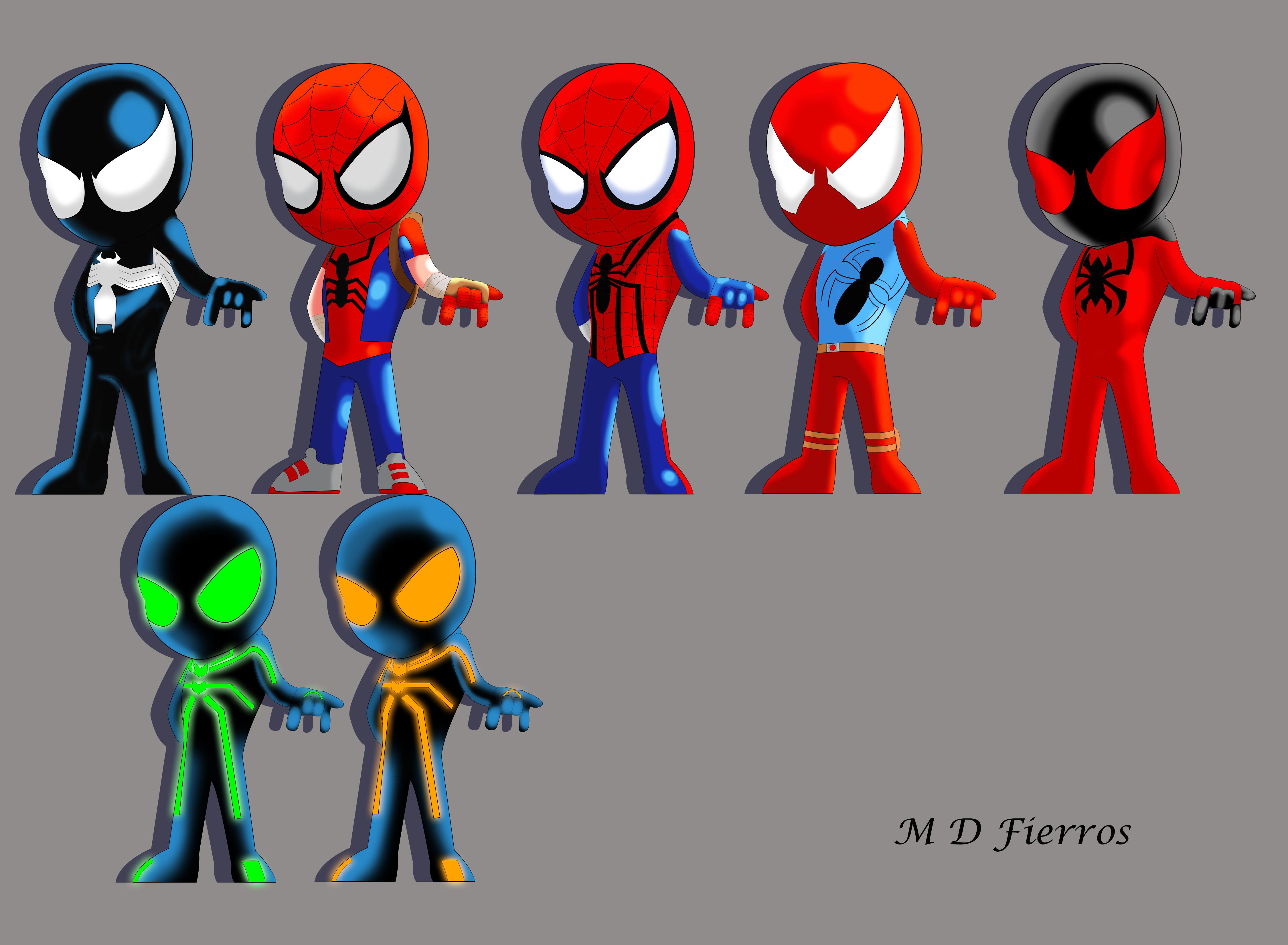 Alt Spider-man costume... Mangaverse Spider Man Wallpaper