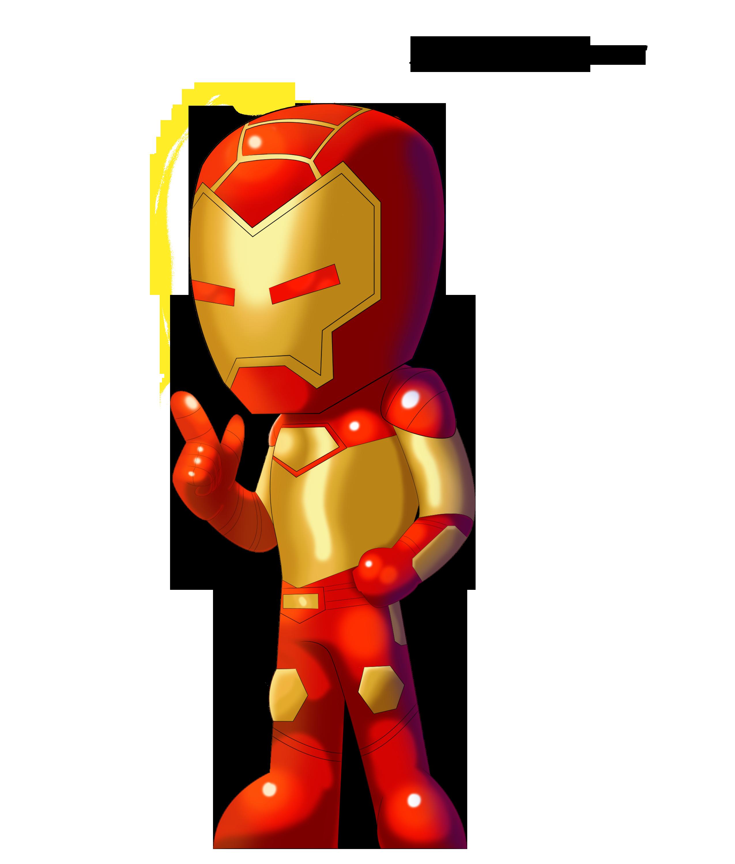 Iron Man 3 Cartoon Drawing