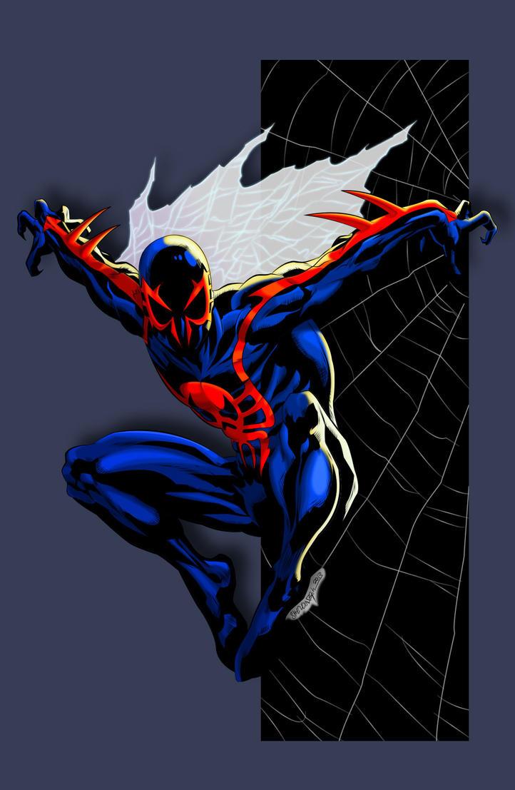 Spider-man 2099 by Ironmatt1995