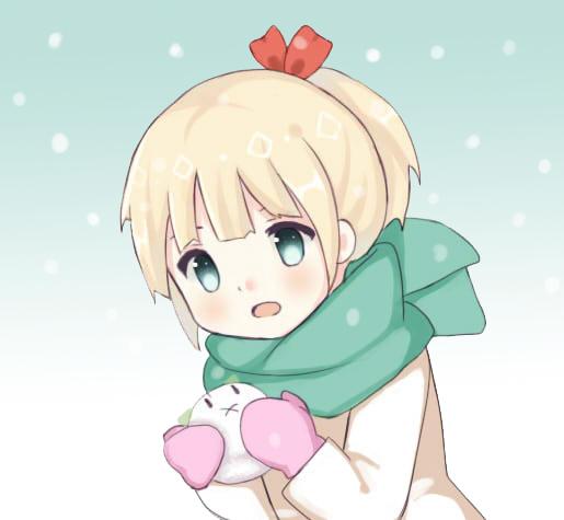 snow friend by Harukasena