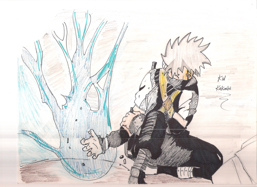 Kid Kakashi by Despairofhostile on DeviantArt
