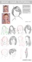 Basic hair tutorial - hair styles by LeeMinKyo