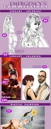 Emergency Commissions by LeeMinKyo